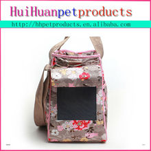 Open Top mess pet carrier travelling dog carrier