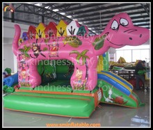 2015 pvc inflatable bouncer, dinosaur inflatable jumper bounce, commercial inflatable bouncer house