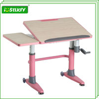 Heigh adjustable modern school chairs and desks for sale