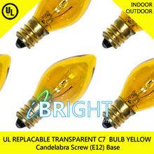 Christmas Light Replacement C7 Bulb