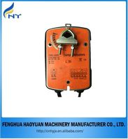 Motorized spring return damper actuator rotary electric actuator