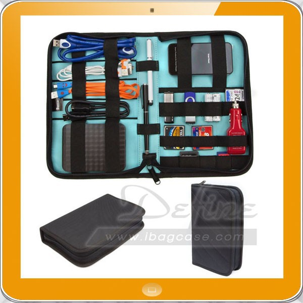 padded semi flexible covers universal electronics accessories travel cable organiser buy. Black Bedroom Furniture Sets. Home Design Ideas