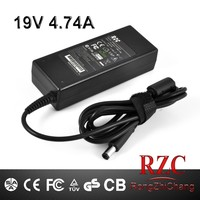Power supply 19V 4.74A 90W laptop charger dc size 7.4*5.0mm
