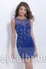 S1535 Hot sale scoop beading sleeveless short party 21 dress