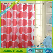 Big circle and irregular circle fabric curtain