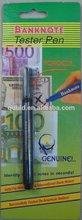 Contrefaçons stylo testeur de l'argent