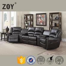ZOY-95960 Modern Home Theatre Cinema Sofa, Home Theatre Recliner Chair