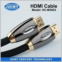4K x 2K Resolution Support metallic HDMI cable ,used for DVD, satellite boxes, LCD, projectors, plasma and HDTVs ect