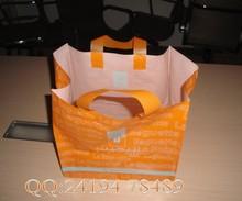 HDPE soft loop handle bags with cardboard