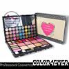 Round matte silver holder OEM color single eyeshadow pan makeup baked eyeshadow