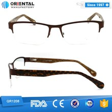 2015 half Rim Metal fashion optical frame models
