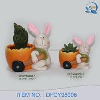 Rabbit Design Indoor Clay Pots Cheap