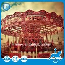 Amusement rides outdoor child carousel rocking horse