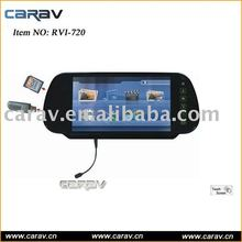 """Rearview mirror- 7"""" TFT LCD Rearview monitor Game/ MP4/ Memory card Slot/Bluetooth"""