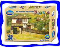 Factory manufacture jigsaw paper toys puzzle for giftware