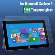 Japan tempered glass screen protector for Microsoft Surface 3