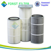 FORST ISO9001 Dust Air Filter Polyester Cartridge Element