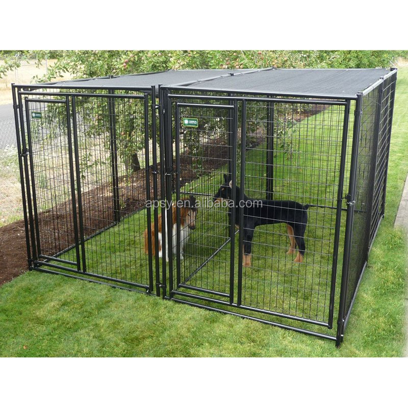 Dog application dog kennel and run dog kennel fence panels for Costco dog fence