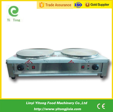 double sided crepe maker electric crepe making machine