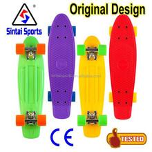 Penny Don Pendleton Art Series 22 Original Purple Blue Cruiser Board Skateboard