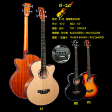 B20 SQOE 4strings fishman ecualizador de guitarra acustica acoustic bass