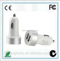 9V 2A universal manufacturing electronic car charger for phone/tablet/MP3/MP4 in Shenzhen