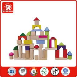 50 pcs hot toys for christmas 2015 basic math wooden block toys