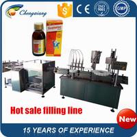 Good quality Automatic glass bottle washing equipment,medical liquid bottle filling machine,medical filling machine