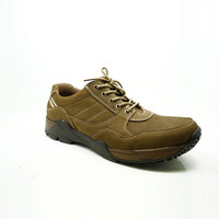 lace up elastic outsole durable exercise men action sports shoes
