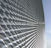 PVC Coated Expanded Metal/Powder Coated Expanded Metal Mesh /Aluminum Expanded Mesh Sheet