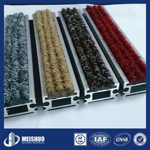 Customized Anti Skid rubber bottom carpets and rugs for Heavy traffic