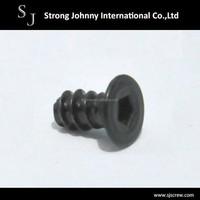 Taiwan factory socket flat head threaded fasteners