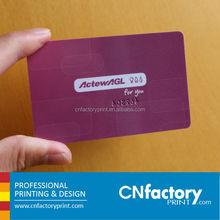 high quality blank pvc id card/blank plastic card/pvc blank card