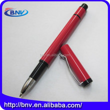 Wholesale metal easy taking red ball point pens