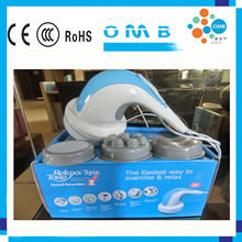 MB-MH05 5 in One Spin and Tone Handheld Vibration Massager Machine Whoebody Relaxer