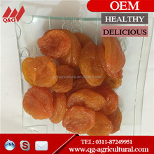 Chinese healthy dried fruit, good taste no sugar dried apricot from China