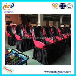 Large 5D 7D cinema with theater seats, cinema movie 40 seats