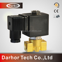 World wide renown brass or ss material 24v solenoid valve