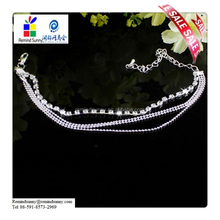2015 Hot Selling Women Foot Jewelry Silver Bead Chain Anklet Ankle Bracelet Barefoot Sandal Beach