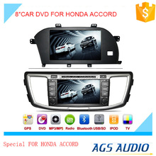 car dvd audio navigation system for HONDA for ACCORD with touch screen,wireless rearview camera