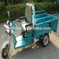 adulto três rodas scooter elétrico para a carga