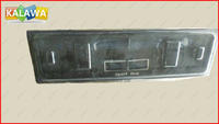 1 pc European/ Russian size car license plate frame registration mark plate / frame RoHS pro-environment ABS