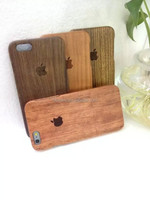 New Factory price bamboo wooden mobile cover for iphone 6/6 plus