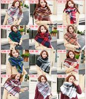 Ladies Latest Design Cheap Winter Branded Printed Tassel Cashmere Pashmina Shawl Wholesale