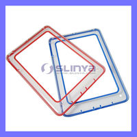 Color Frame Transparent Clear Case for iPad Mini Crystal Cover
