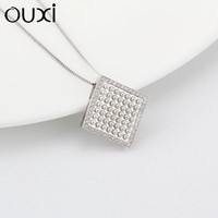 OUXI Fashion Jewelry 925 Sterling Silver Pendant, Silver Jewelry Y30099