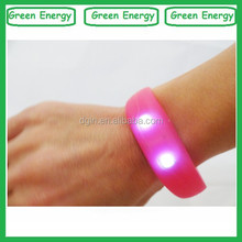 For party/concert/events led wrist bands/silicone wrist bands