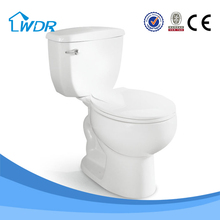 Popular items South American market two piece quality siphonic sanitary wc toilet