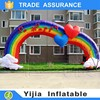Outdoor garden inflatable wedding arch