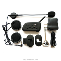 Hands Free 500M BIM Motorcycle Helmets Bluetooth Headset Wireless Bluetooth BT Interphone 6 riders to connect to each other